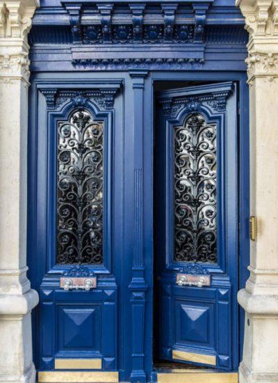 Photo porte entree immeuble auteuil paris france